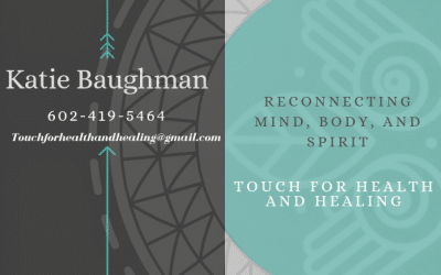 Katie Baughman 'Touch For Health And Healing'