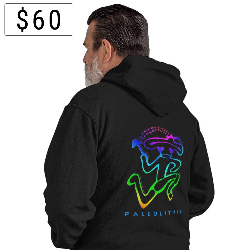 60paleolithic hoodie